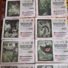 Bilhetes ONCE: SORTEO DEL ORO 1993. Lote 195565293