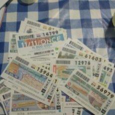 Cupones ONCE: LOTE 78 CUPONES DE LA ONCE. Lote 197938845