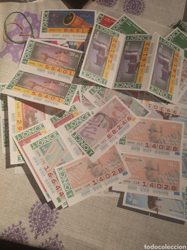 LOTE DE 100 CUPONES DE LA ONCE. (Coleccionismo - Lotería - Cupones ONCE)