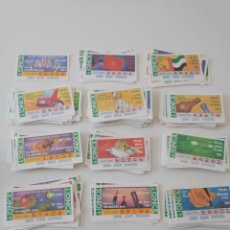 Cupones ONCE: CUPONES ONCE AÑO 1991 PRECIO EN PESETAS. Lote 200514796