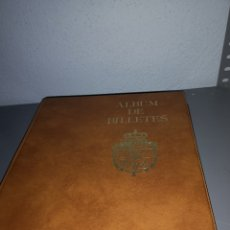 Cupones ONCE: EST 1. L1. ALBUM DE LOTERÍA. CON NÚMEROS DE LA ONCE. DESDE 1987 HASTA 1989. Lote 204247756