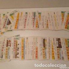 Cupones ONCE: MÁS DE 150 CUPONES ONCE, AÑOS 1987, 1988, 1989. Lote 204502920