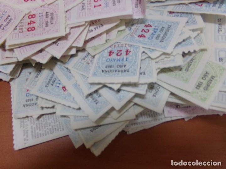 Cupones ONCE: cupones once, 2,700 cupones del 1983, hay de los 12 meses - Foto 3 - 206118211
