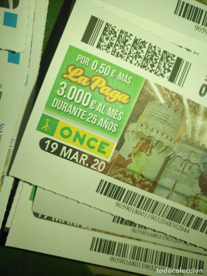 Cupones ONCE: lote 7 cupones de la once dia 16 17 18 19 20 21 y 22 CUPONES NO SORTEADOS MARZO 2020 confinamiento - Foto 5 - 210414111
