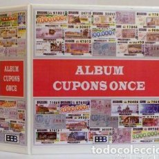 Cupones ONCE: ALBUMES CUPONES ONCE SUPERMAMUT. Lote 211402379