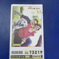 Cupones ONCE: BONO CUPÓN ONCE COMPLETO TARJETA MÁS POSTAL 2011. Lote 218963581