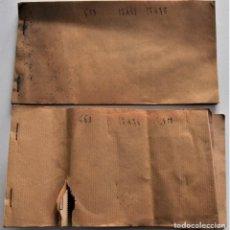 Cupones ONCE: DOS TALONARIOS SORTEO AÑO 1946 CONGREGACIÓN MADRES CRISTIANAS E HIJAS SAGRADA FAMILIA - VALENCIA. Lote 222640055