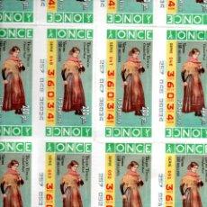 Cupones ONCE: BILLETE DE LA ONCE (20 CUPONES) - AÑO 1996 - 13 DE SEPTIEMBRE - TRAJE TÍPICO DE CIUDAD REAL -. Lote 223091830
