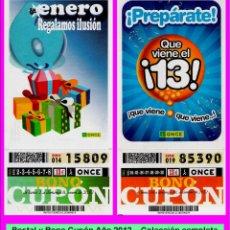Bilhetes ONCE: 2012 - AÑO COMPLETO - BONO SEMANAL DE LA ONCE / ENTERO SIN CORTAR / BUENA CALIDAD. Lote 236559325