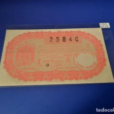 Cupones ONCE: LOTERIA 1942 SORTEO 23. Lote 228617328
