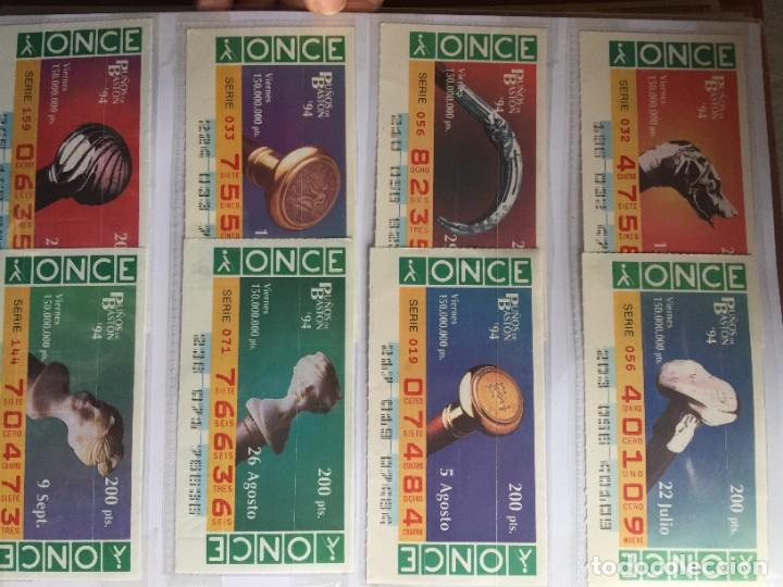 Cupones ONCE: PUÑOS DE BASTON 50 CUPONES INCLUYE TRES CUPONES EXTRAORDINARIOS MUNDIAL DE FUTBOL USA 94 - Foto 4 - 231222710
