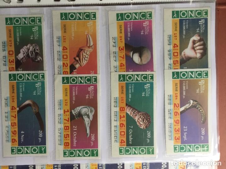 Cupones ONCE: PUÑOS DE BASTON 50 CUPONES INCLUYE TRES CUPONES EXTRAORDINARIOS MUNDIAL DE FUTBOL USA 94 - Foto 5 - 231222710