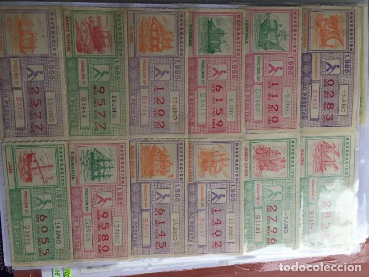 Cupones ONCE: COLECCIÓN DE 186 CUPONES AÑO 1985 - Foto 9 - 231225190