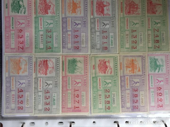 Cupones ONCE: COLECCIÓN DE 186 CUPONES AÑO 1985 - Foto 10 - 231225190