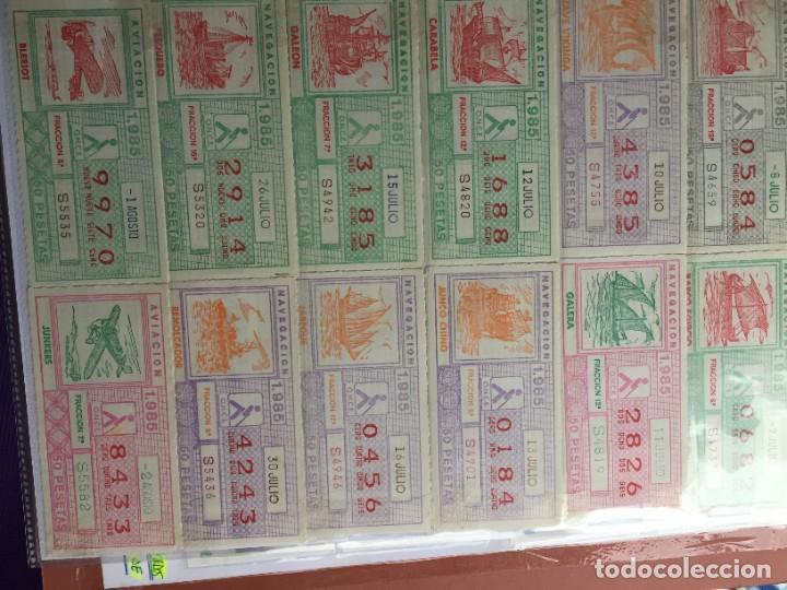 Cupones ONCE: COLECCIÓN DE 186 CUPONES AÑO 1985 - Foto 11 - 231225190