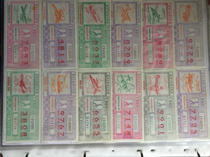 Cupones ONCE: COLECCIÓN DE 186 CUPONES AÑO 1985 - Foto 12 - 231225190