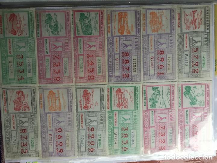 Cupones ONCE: COLECCIÓN DE 186 CUPONES AÑO 1985 - Foto 13 - 231225190