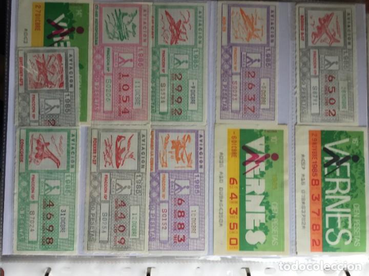 Cupones ONCE: COLECCIÓN DE 186 CUPONES AÑO 1985 - Foto 16 - 231225190