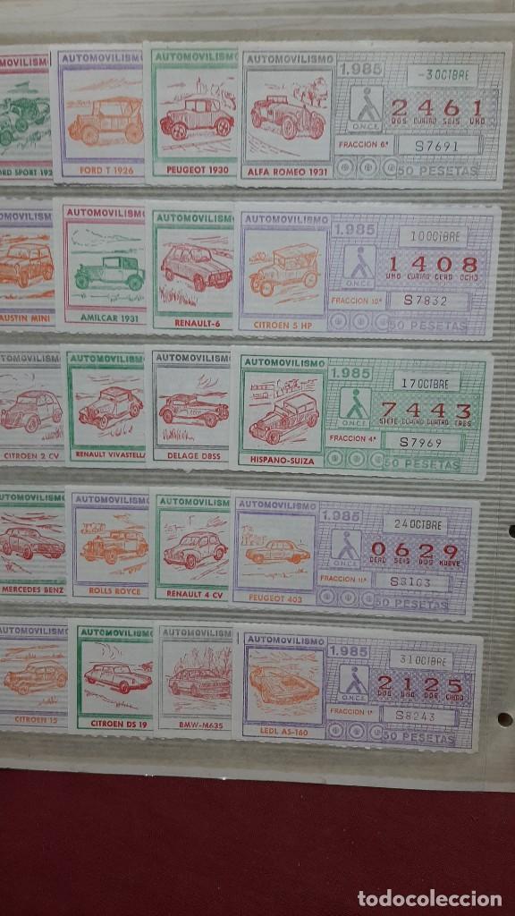 LOTE BILLETES LOTERIA CUPONES ONCE (Coleccionismo - Lotería - Cupones ONCE)