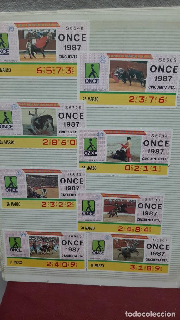 Cupones ONCE: LOTE BILLETES LOTERIA CUPONES ONCE - Foto 4 - 234291380