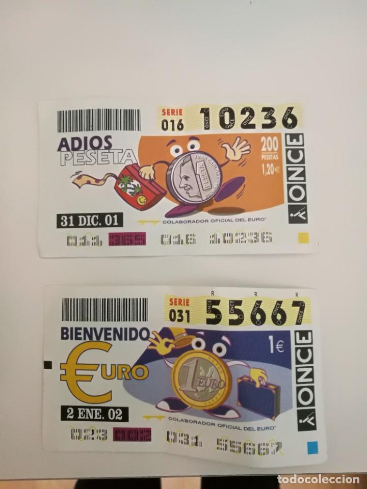 CUPONES DE LA ONCE. (Coleccionismo - Lotería - Cupones ONCE)