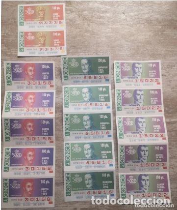 Cupones ONCE: Mas de cien cupones, lotería ONCE - Foto 2 - 235832435