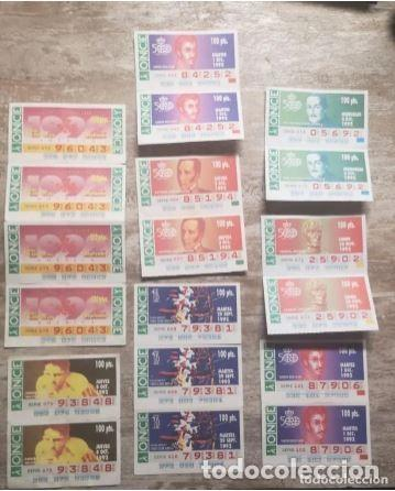 Cupones ONCE: Mas de cien cupones, lotería ONCE - Foto 3 - 235832435