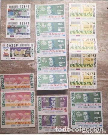 Cupones ONCE: Mas de cien cupones, lotería ONCE - Foto 4 - 235832435