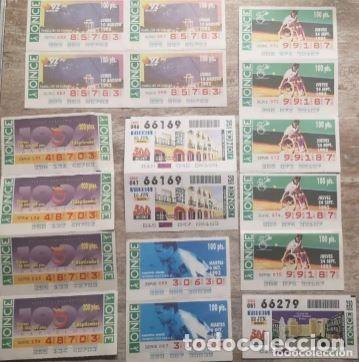 Cupones ONCE: Mas de cien cupones, lotería ONCE - Foto 5 - 235832435