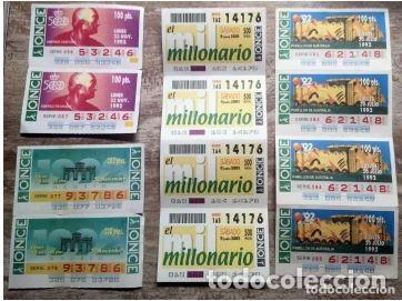 Cupones ONCE: Mas de cien cupones, lotería ONCE - Foto 7 - 235832435
