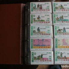 Cupones ONCE: COLECCION DE 1988 DE 253 CUPONES DE LA ONCE. Lote 237156390
