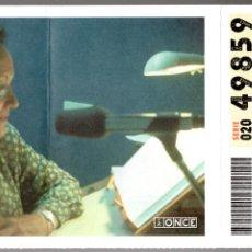 Billets ONCE: BONO CUPÓN COMPLETO DE LA ONCE - SEMANA DEL 6 AL 12 DE SEPTIEMBRE DE 2004 -. Lote 243309240