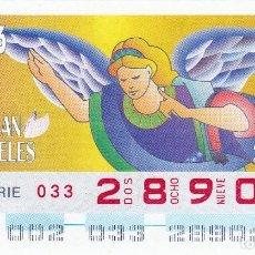 Cupones ONCE: 1997 - CUPON ONCE - ANGELES - 2 ENERO - Nº 28901. Lote 244490870