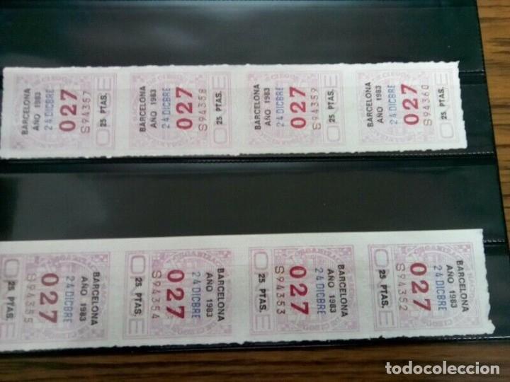 Cupones ONCE: PAGINA CON 35 NUMEROS ONCE DE TRES CIFRAS AÑOS 70/80 - Foto 2 - 263034340