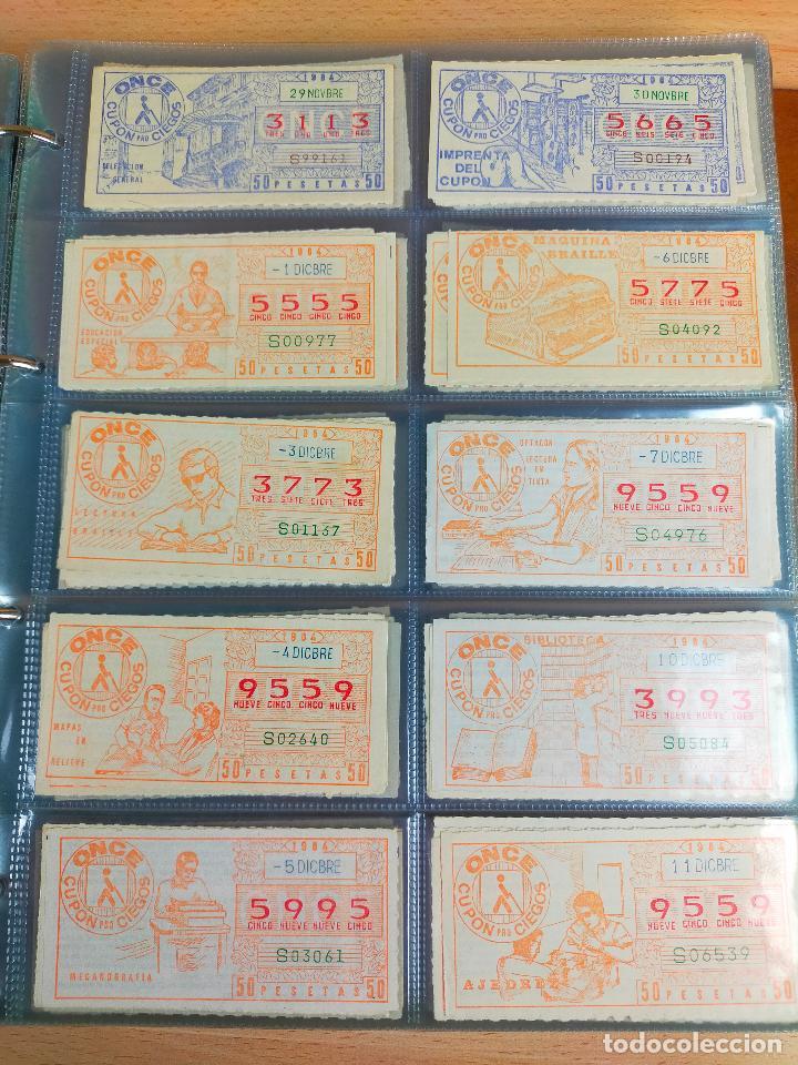 Cupones ONCE: COLECCION COMPLETA CUPONES ONCE CAPICUAS 1984 AL 1987 UN CUPON POR SORTEO - Foto 32 - 265700389