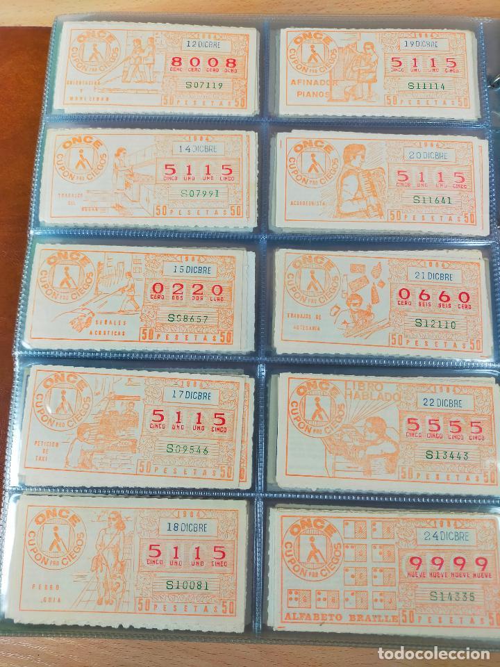 Cupones ONCE: COLECCION COMPLETA CUPONES ONCE CAPICUAS 1984 AL 1987 UN CUPON POR SORTEO - Foto 33 - 265700389