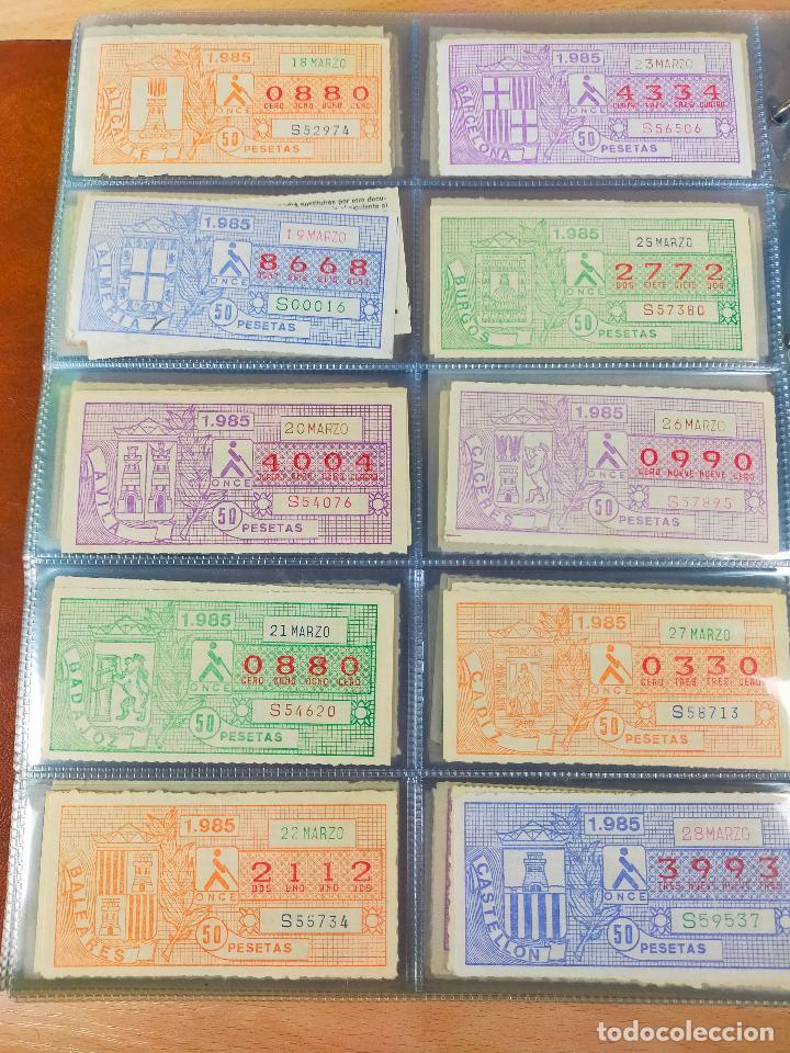 Cupones ONCE: COLECCION COMPLETA CUPONES ONCE CAPICUAS 1984 AL 1987 UN CUPON POR SORTEO - Foto 42 - 265700389