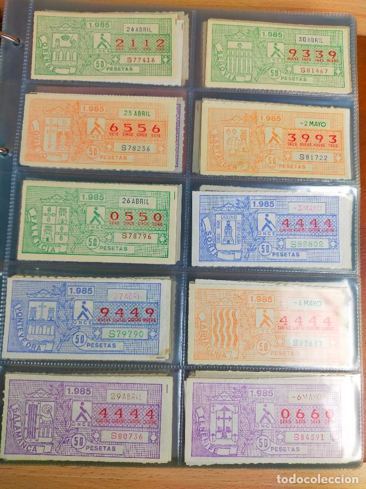 Cupones ONCE: COLECCION COMPLETA CUPONES ONCE CAPICUAS 1984 AL 1987 UN CUPON POR SORTEO - Foto 45 - 265700389