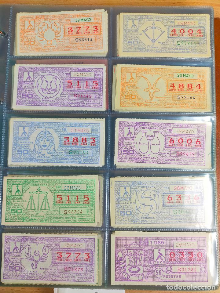 Cupones ONCE: COLECCION COMPLETA CUPONES ONCE CAPICUAS 1984 AL 1987 UN CUPON POR SORTEO - Foto 47 - 265700389