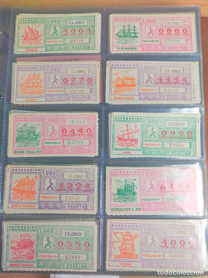 Cupones ONCE: COLECCION COMPLETA CUPONES ONCE CAPICUAS 1984 AL 1987 UN CUPON POR SORTEO - Foto 49 - 265700389
