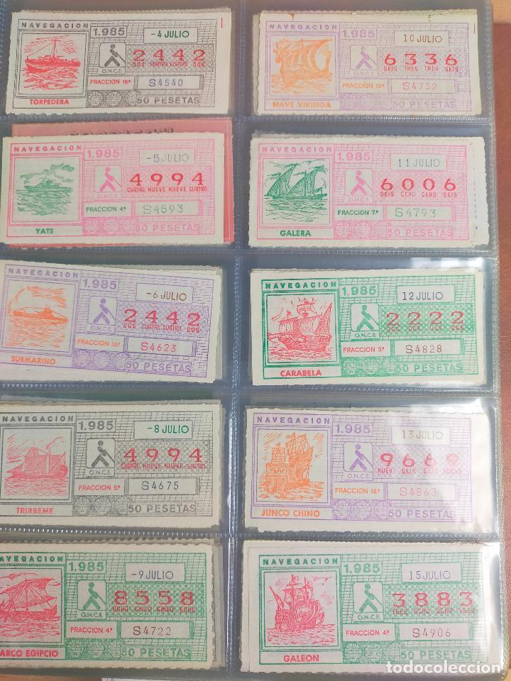 Cupones ONCE: COLECCION COMPLETA CUPONES ONCE CAPICUAS 1984 AL 1987 UN CUPON POR SORTEO - Foto 51 - 265700389