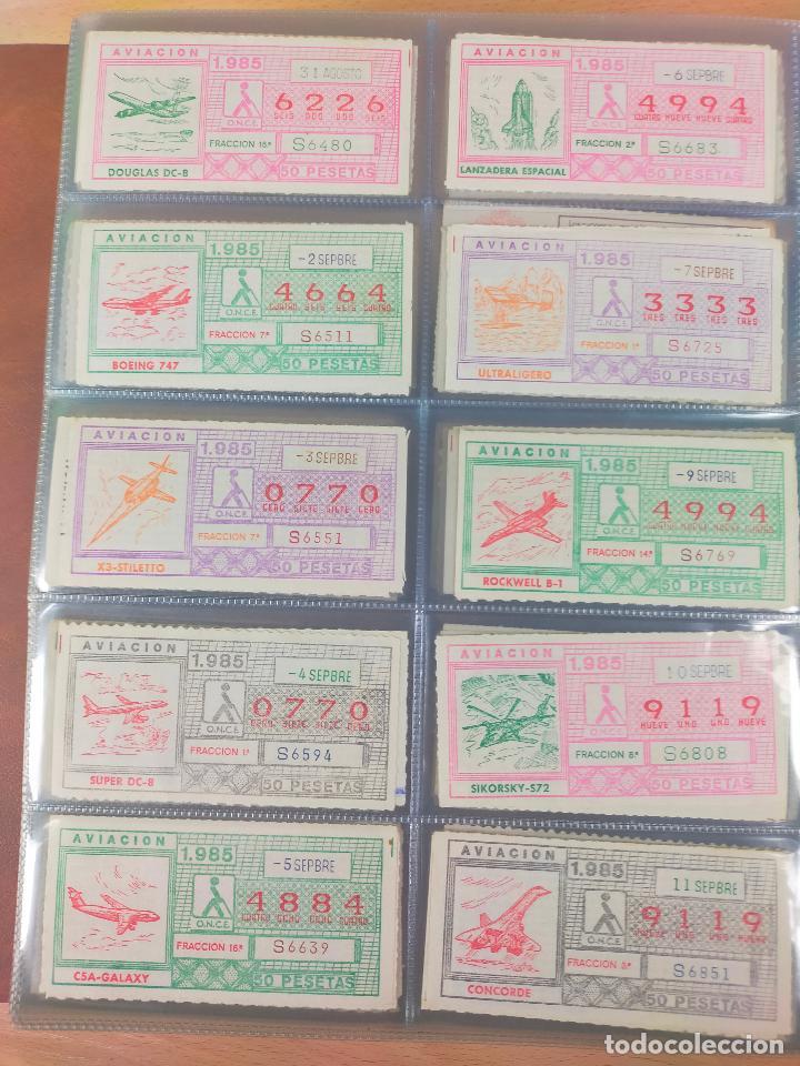 Cupones ONCE: COLECCION COMPLETA CUPONES ONCE CAPICUAS 1984 AL 1987 UN CUPON POR SORTEO - Foto 52 - 265700389