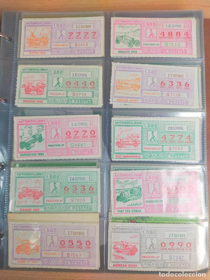Cupones ONCE: COLECCION COMPLETA CUPONES ONCE CAPICUAS 1984 AL 1987 UN CUPON POR SORTEO - Foto 53 - 265700389