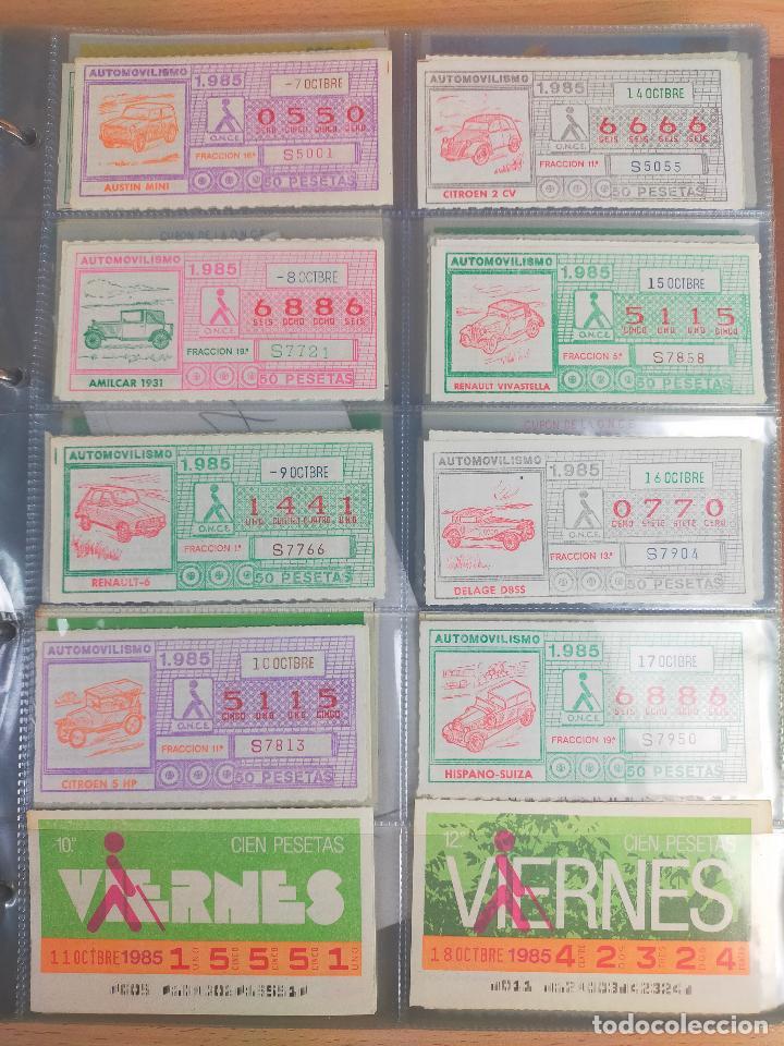 Cupones ONCE: COLECCION COMPLETA CUPONES ONCE CAPICUAS 1984 AL 1987 UN CUPON POR SORTEO - Foto 55 - 265700389