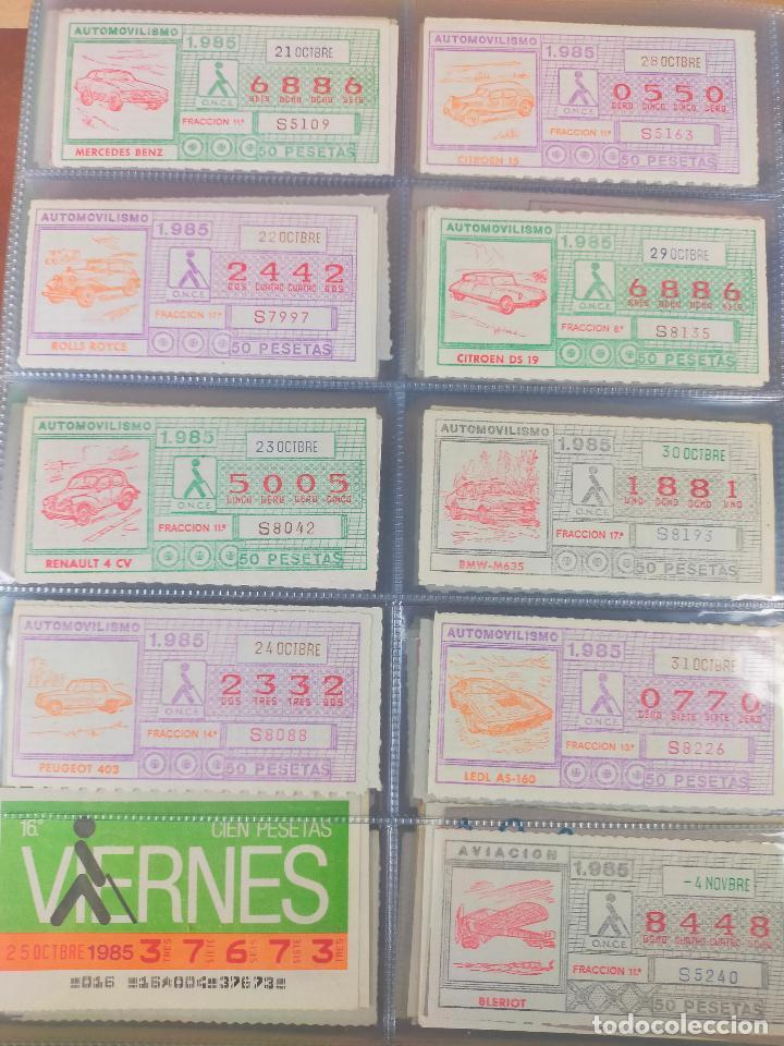 Cupones ONCE: COLECCION COMPLETA CUPONES ONCE CAPICUAS 1984 AL 1987 UN CUPON POR SORTEO - Foto 56 - 265700389
