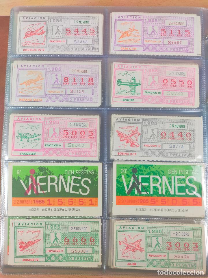 Cupones ONCE: COLECCION COMPLETA CUPONES ONCE CAPICUAS 1984 AL 1987 UN CUPON POR SORTEO - Foto 58 - 265700389