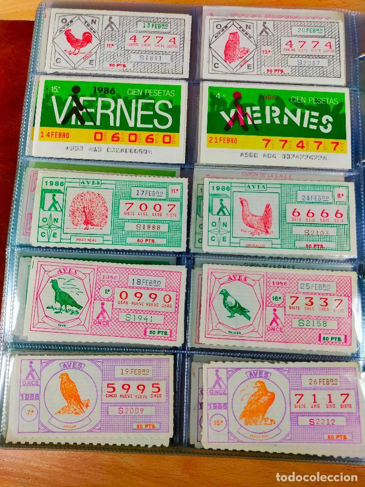 Cupones ONCE: COLECCION COMPLETA CUPONES ONCE CAPICUAS 1984 AL 1987 UN CUPON POR SORTEO - Foto 64 - 265700389