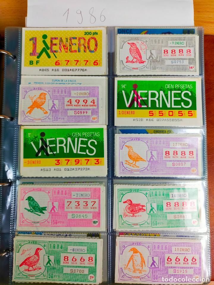 Cupones ONCE: COLECCION COMPLETA CUPONES ONCE CAPICUAS 1984 AL 1987 UN CUPON POR SORTEO - Foto 98 - 265700389