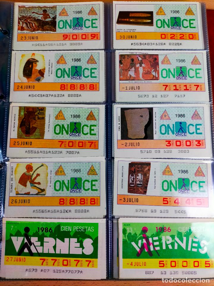 Cupones ONCE: COLECCION COMPLETA CUPONES ONCE CAPICUAS 1984 AL 1987 UN CUPON POR SORTEO - Foto 110 - 265700389
