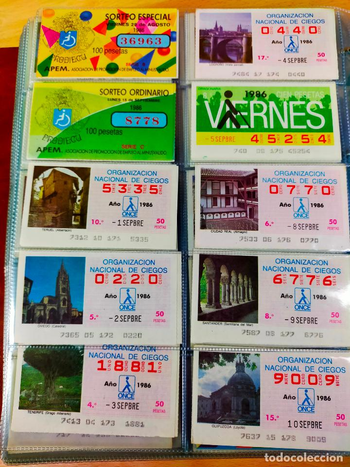Cupones ONCE: COLECCION COMPLETA CUPONES ONCE CAPICUAS 1984 AL 1987 UN CUPON POR SORTEO - Foto 115 - 265700389